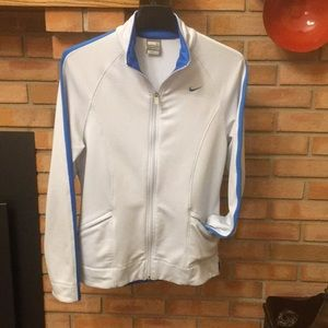 Nike  blue zip up size m